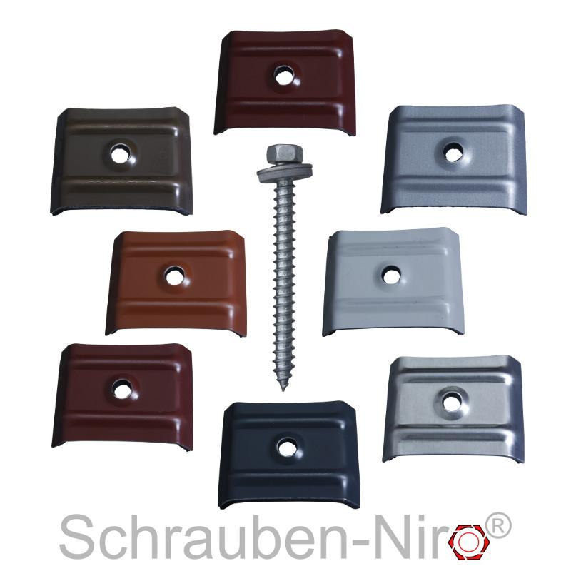 fassadenbauschrauben 6 5 mm e16 edelstahl schrauben f r trapezblech v2a a2 va. Black Bedroom Furniture Sets. Home Design Ideas